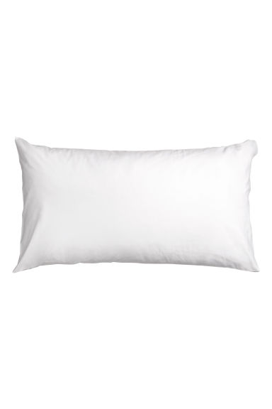 Cotton Pillowcase - White - Home All | H&M CA 1