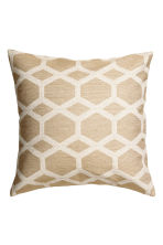 Glittery cushion cover - White/Gold-coloured - Home All | H&M IE 2