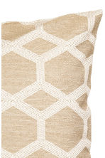 Glittery cushion cover - White/Gold-coloured - Home All | H&M IE 4
