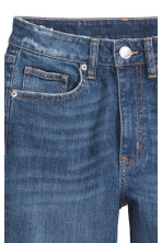 Vintage High Trashed Jeans - Dark denim blue -  | H&M 4
