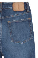 Vintage High Trashed Jeans - Dark denim blue -  | H&M 3