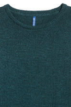 Knitted jumper - Dark petrol - Men | H&M 3