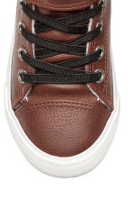 Pile-lined hi-tops - Brown -  | H&M 3