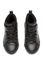 Pile-lined hi-tops - Black - Kids | H&M CN 3