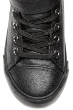 Pile-lined High Tops - Black - Kids | H&M CA 4