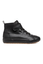 Pile-lined High Tops - Black - Kids | H&M CA 2