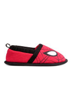 Soft slippers - Red/Spider-Man - Kids | H&M CN 2