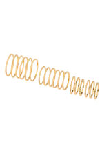 18-pack rings - Gold - Ladies | H&M 1