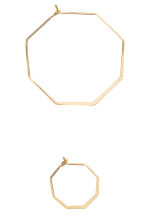 3-pack hoop earrings - Gold - Ladies | H&M 2