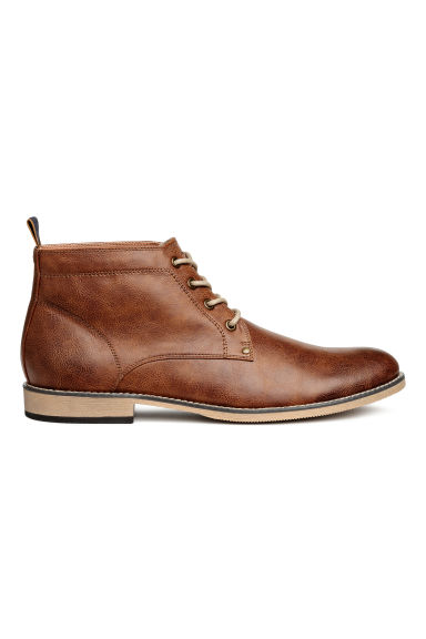 Desert boots - Cognac brown - Men | H&M CN