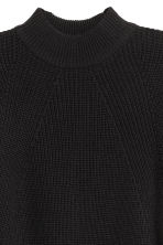 Turtleneck jumper - Black - Ladies | H&M IE 3