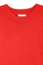 Knitted jumper - Red - Ladies | H&M CN 3