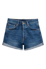 Denim short - Donker denimblauw - DAMES | H&M NL 2