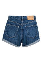 Denim shorts - Dark denim blue - Ladies | H&M 3