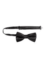 Silk bow tie - Black - Men | H&M 2