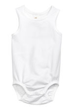 3-pack pima cotton bodysuits - White - Kids | H&M 3