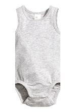 3-pack pima cotton bodysuits - White - Kids | H&M 4