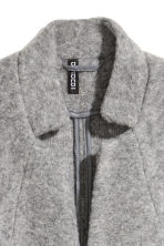 Wool-blend coat - Grey marl - Ladies | H&M IE 3