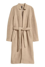 Cappotto in misto lana - Beige - DONNA | H&M IT 2