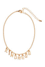 Choker with pendants - Gold - Ladies | H&M 1