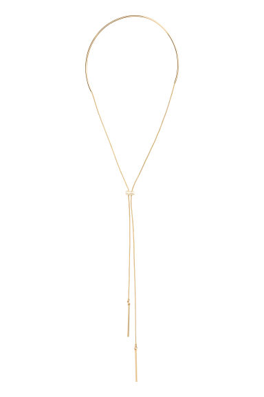 Drop-down choker - Gold - Ladies | H&M 1