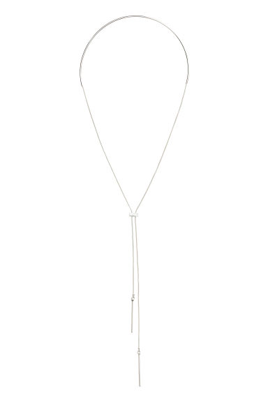 Drop-down choker - Silver - Ladies | H&M 1