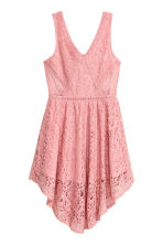 Lace dress - Coral pink - Ladies | H&M CA 2