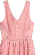 Lace dress - Coral pink - Ladies | H&M CA 3