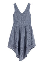 Lace dress - Pigeon blue - Ladies | H&M 2