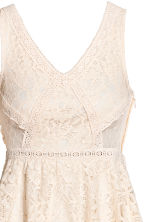 Lace dress - Natural white - Ladies | H&M IE 3