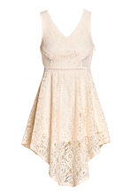 Lace dress - Natural white - Ladies | H&M IE 2