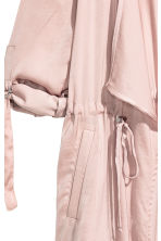 Satin parka - Powder pink - Ladies | H&M CN 3