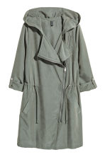 Hooded parka - Khaki green - Ladies | H&M 2