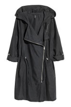 Hooded parka - Black - Ladies | H&M CN 2