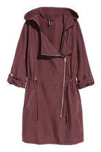 Hooded parka - Burgundy - Ladies | H&M CN 2