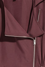 Hooded parka - Burgundy - Ladies | H&M CN 3
