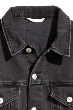 Denim jacket - Black denim - Ladies | H&M 3