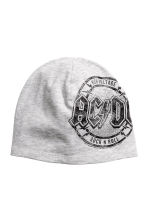 Printed jersey hat - Grey AC/DC -  | H&M 1