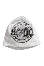 Printed jersey hat - Grey AC/DC -  | H&M CA 2