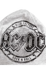 Printed jersey hat - Grey AC/DC -  | H&M CA 3