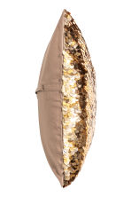 Sequined Cushion Cover - Gold-colored - Home All | H&M CA 2