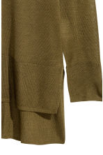 Fine-knit jumper - Khaki green - Ladies | H&M 3