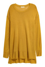 Fine-knit Sweater - Mustard yellow - Ladies | H&M CA 2