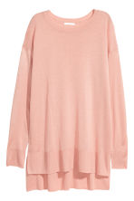 Fine-knit jumper - Powder pink - Ladies | H&M 2