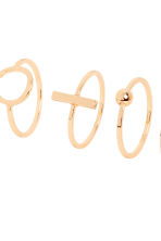 6-pack rings - Gold - Ladies | H&M IE 2