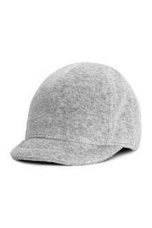 Cotton velour cap