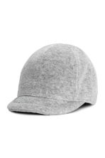 Cotton velour cap - Grey -  | H&M 1