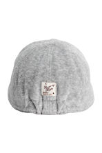 Cotton velour cap - Grey -  | H&M 2