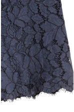 Lace shorts - Dark blue - Ladies | H&M 3