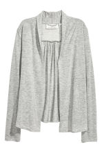 Lyocell jersey cardigan - Grey marl - Ladies | H&M 2